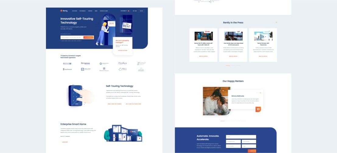 White Website Design Inspiration