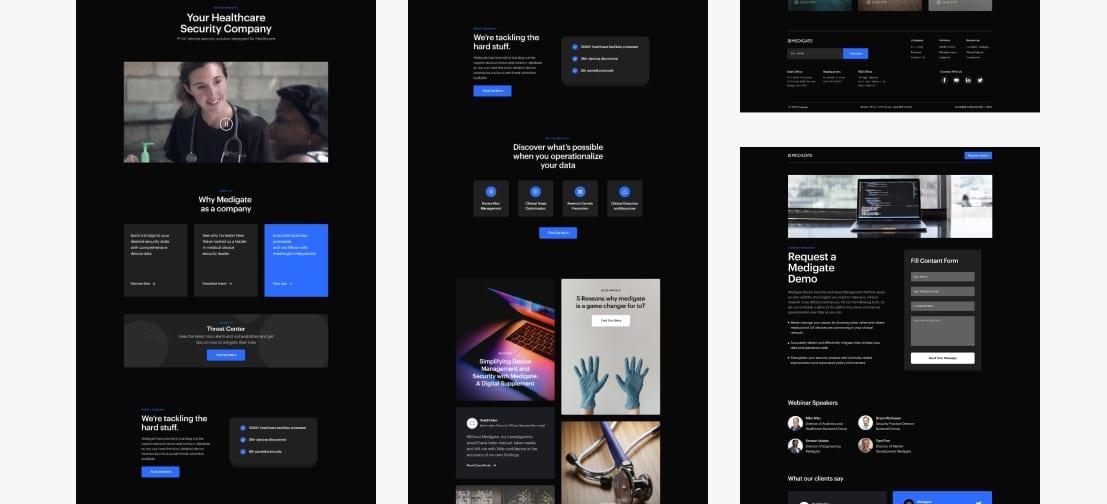 Dark Website Design Inspiration